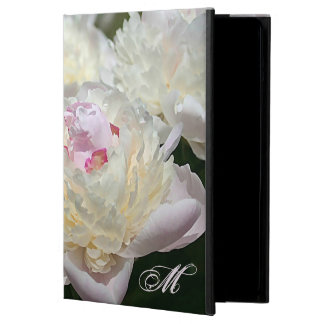 Delicate Peony Watercolor in Pink and White Case For iPad Air