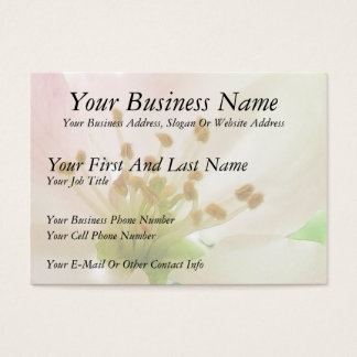 Delicate Pink Apple Blossom Business Card