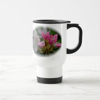 Delicate Pink Azaleas Travel Mug