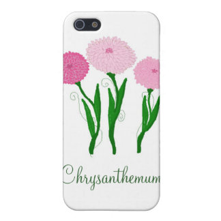 Delicate Pink Chrysanthemums iPhone SE/5/5s Case