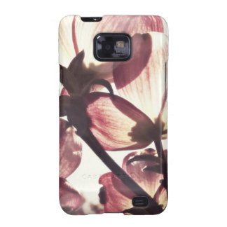 Delicate Pink Dogwood Flower Blossoms Samsung Galaxy SII Covers