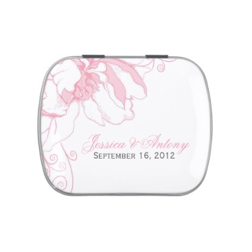 heartlocked Delicate Pink Floral Candy Tins