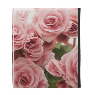 Delicate Pink Flowers iPad Case