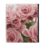Delicate Pink Flowers iPad Folio Covers