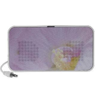 Delicate Pink Lavender Flower Speaker System