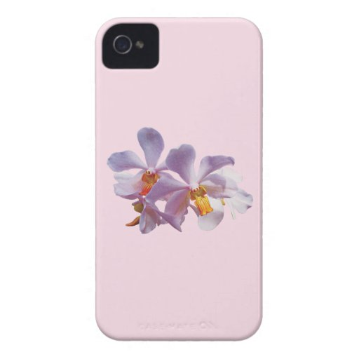 Delicate Pink Orchids iPhone 4 Covers