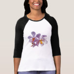 Delicate Pink Orchids Ladies T-shirt