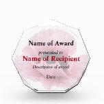 Delicate Pink Poppy Award