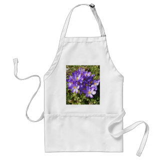 Delicate Purple Flowers CricketDiane Florals Adult Apron