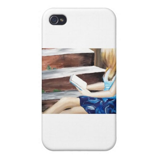 Delicate reading covers for iPhone 4