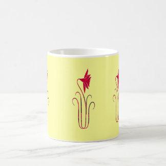 Delicate Red Flower Coffee Mug