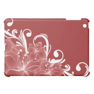 Delicate Red Flowers  iPad Mini Cases