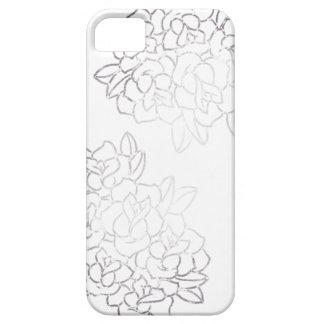 delicate rose iPhone SE/5/5s case