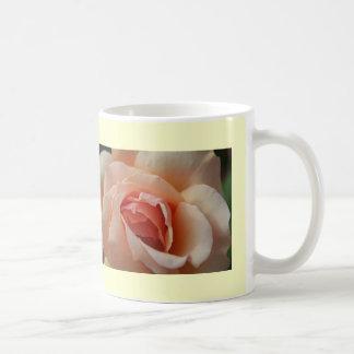 Delicate Roses Classic White Coffee Mug