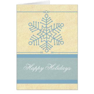 Delicate Snowflake Christmas Card