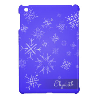 Delicate SnowFlake Sky iPad Mini Cases