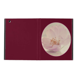 Delicate Soft Pink Cherry Blossom Flower iPad Case