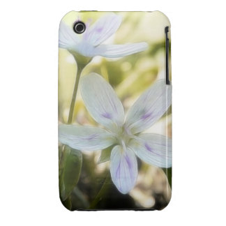 Delicate Spring Beauty Flowers Case-Mate iPhone 3 Cases