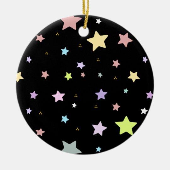 Delicate Star pattern ornament