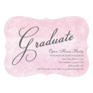 """Delicate Watercolor Open House Party Invitations 5"""" X 7"""" Invitation Card"""