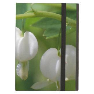 Delicate White Bleeding Heart iPad Air Case