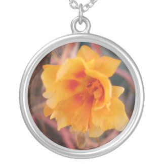 Delicate Yellow Flower Necklace