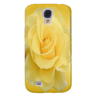 Delicate Yellow Rose #4 Galaxy S4 Case