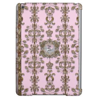 Délicieux Pink Romantic Monogrma iPad Air Cases