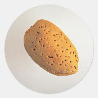 Delicious Almond Round Sticker