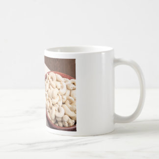 Delicious and healthy raw cashew nuts coffee mug