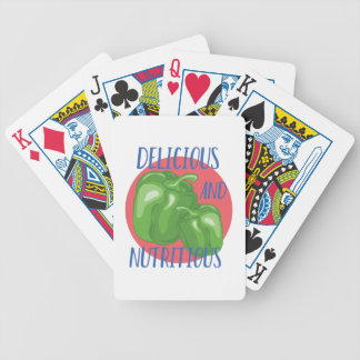 Delicious And Nutritious Bicycle Playing Cards
