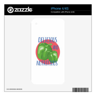 Delicious And Nutritious iPhone 4 Skin