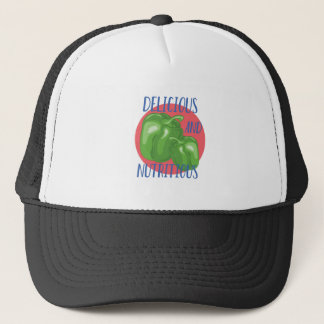 Delicious And Nutritious Trucker Hat