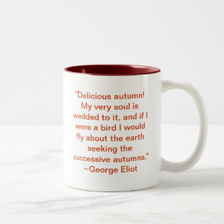 Delicious Autumn Two-Tone Coffee Mug