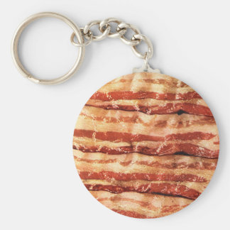Delicious BACON goodness Basic Round Button Keychain