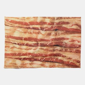 Delicious BACON kitchen towel