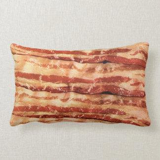 Delicious BACON rectangle throw pillow