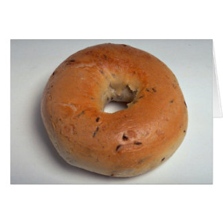 Delicious Bagel Greeting Card