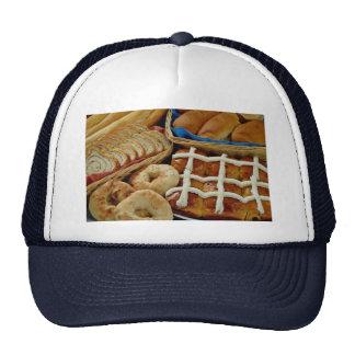 Delicious Baked goods: bagels, rolls, hot crossed Trucker Hat
