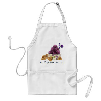 Delicious blackberry and sweet pastries adult apron