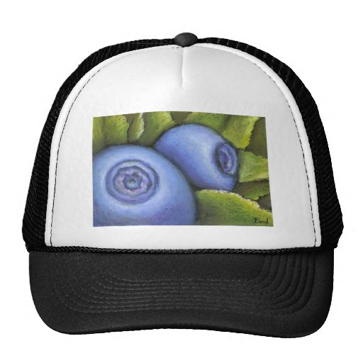 Delicious Blueberries Mesh Hat