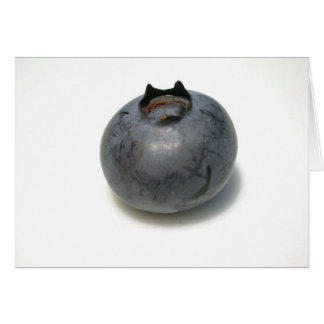 Delicious Blueberry Greeting Card
