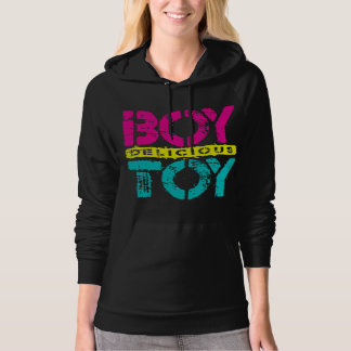 Delicious BOY TOY - I Am Ultimate Booty Call, Neon Hoodie