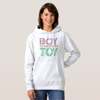 Delicious BOY TOY - I Am Ultimate Booty Call, Plum Hoodie