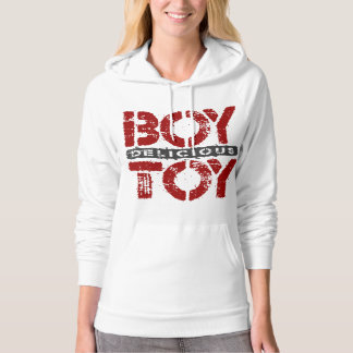 Delicious BOY TOY - I Am Ultimate Booty Call, Red Hoodie