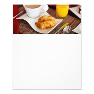 Delicious breakfast flyer