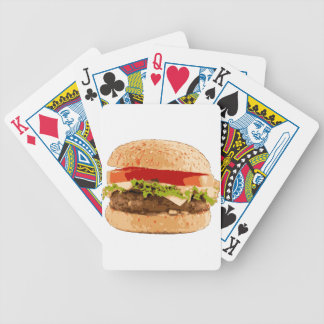 Delicious Burger Bicycle Playing Cards