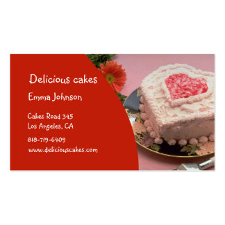Delicious Cakes Business Cards