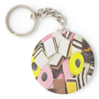 Delicious Candy Keychain keychain