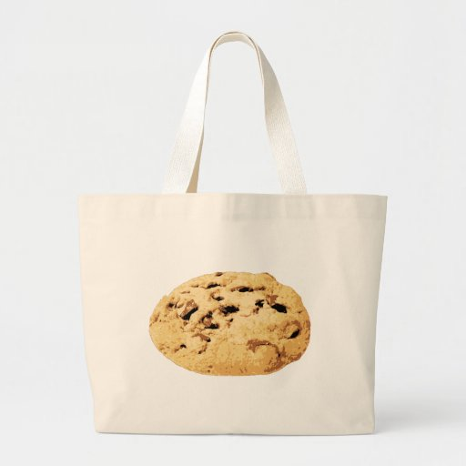 Delicious Chocolate Chip Cookie Canvas Bags